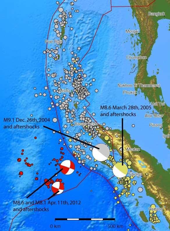 Risques de tsunami et séismes en Thailande