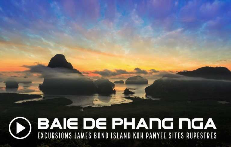 DECOUVERTE DE LA BAIE DE PHANG NGA