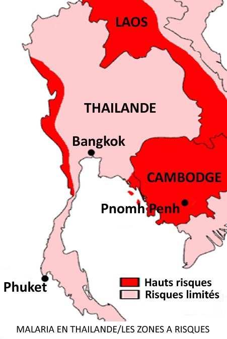 Carte Paludisme Asie Du Sud Est.Moustiques En Thailande Vecteur De Maladies Graves