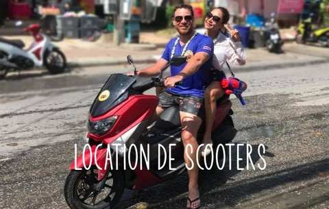 LOCATION DE SCOOTER PHUKET NINAS CARS