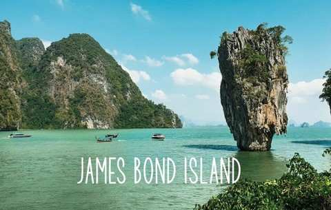 Visiter Koh James Bond island